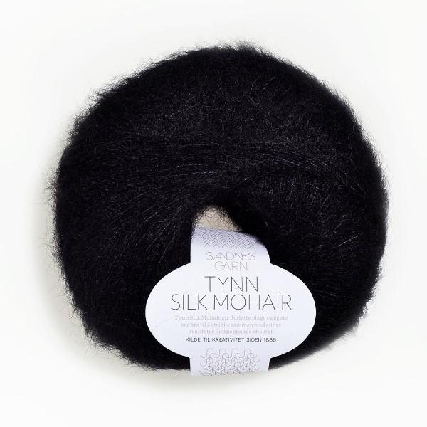 Tynn Silk Mohair 1099 svart