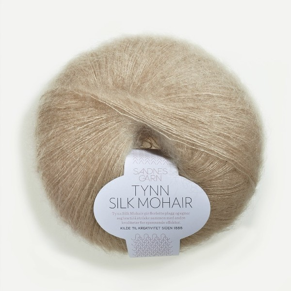 Tynn Silk Mohair 3021 ljus beige