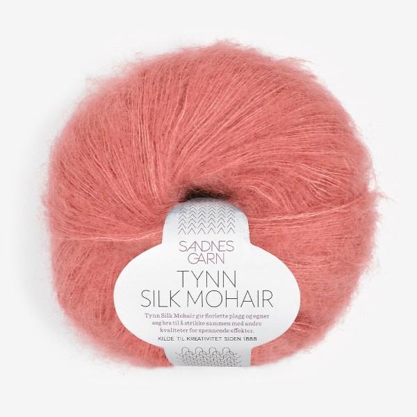 Tynn Silk Mohair 4025 ljus sienna