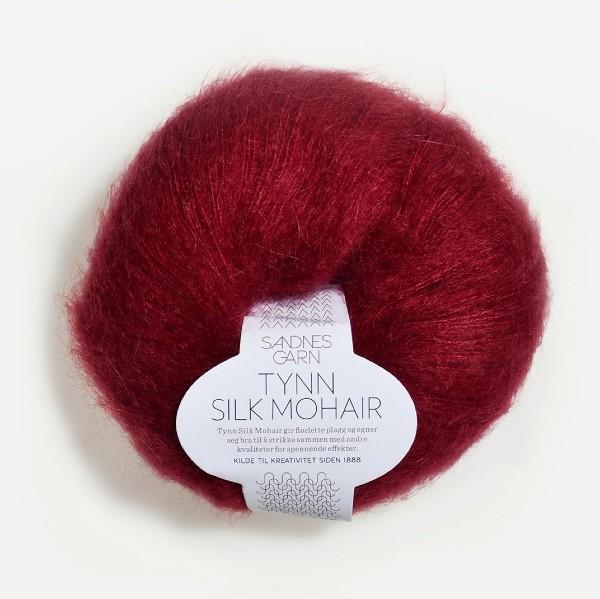 Tynn Silk Mohair 4236 djupröd