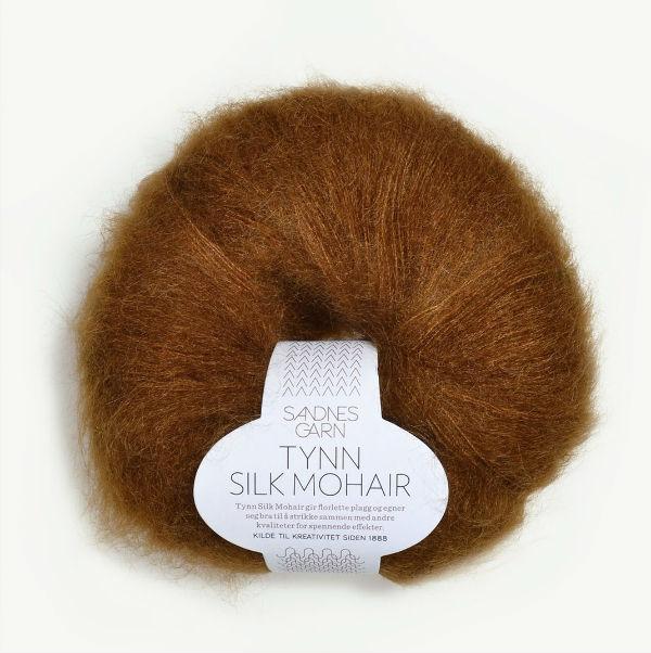 Tynn Silk Mohair 2755 gyllenbrun