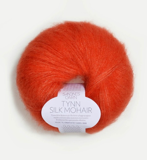 Tynn Silk Mohair 3818 orange
