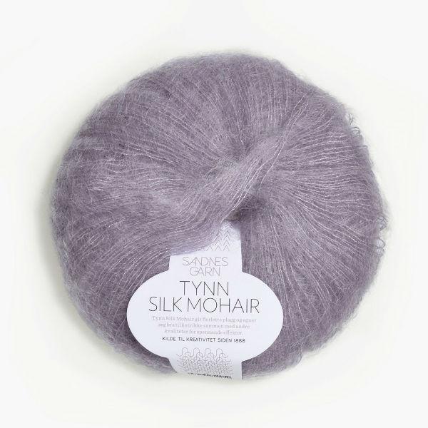 Tynn Silk Mohair 4631 dammig syren