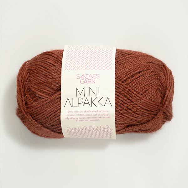 Mini Alpakka 3355 rust