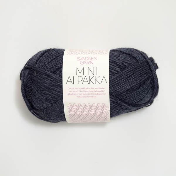 Mini Alpakka 6071 blågrå