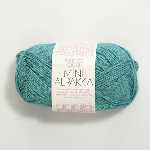 Mini Alpakka 7024 sjögrön