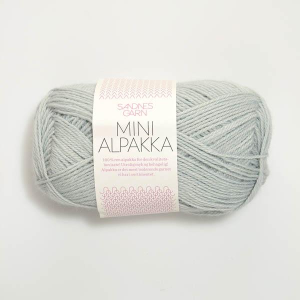 Mini Alpakka 7521 lys blå