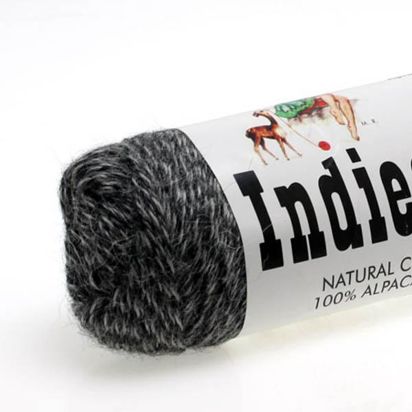 Indiecita 0135 grå tweed
