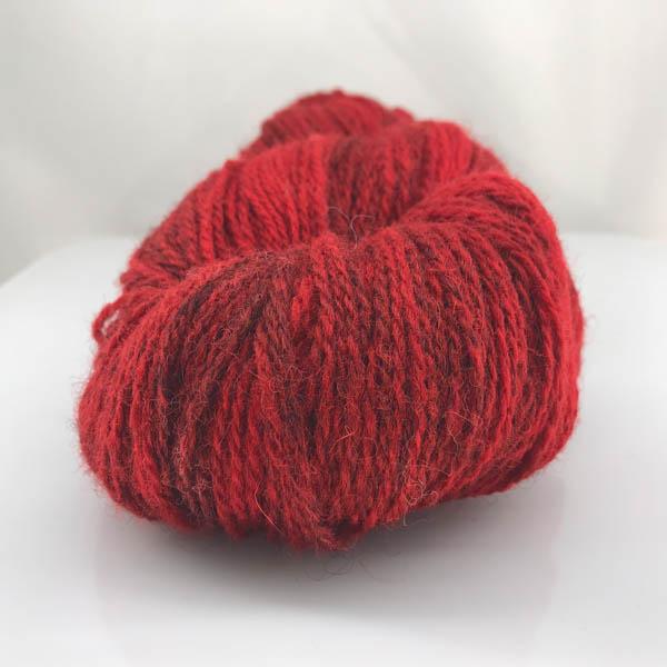 Kampes 2-tråd 207 röd flamgarn
