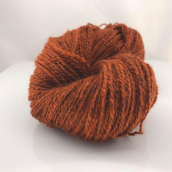 Kampes 2-tråd 229  mörk bränd orange