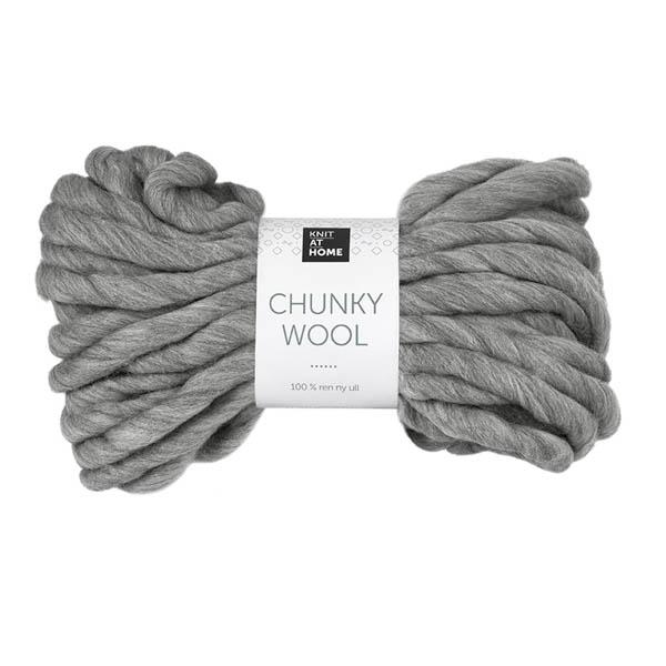 Chunky Wool 933 grå