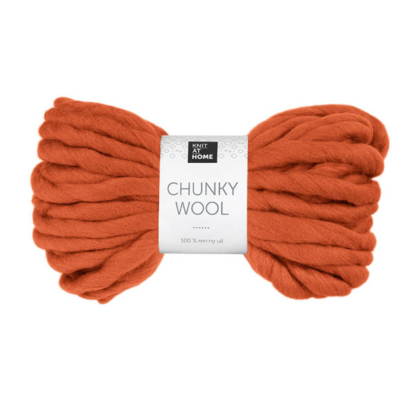 Chunky Wool 943 bränd orange