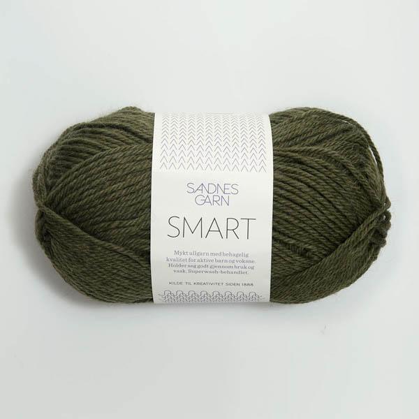 Sandnes Smart 9572 mörk grönmelerad