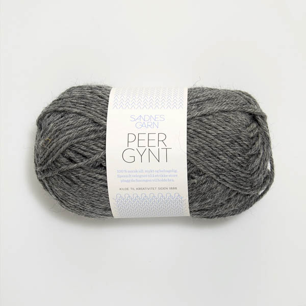 Peer Gynt 1053 mörk gråmelert