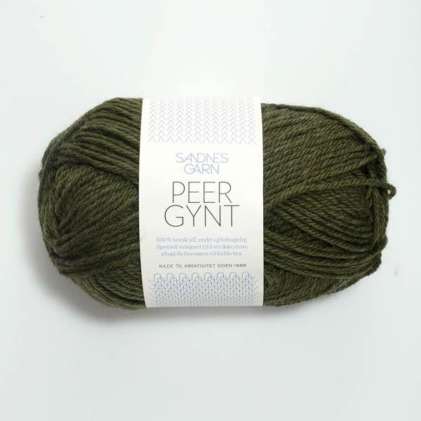 Peer Gynt 9572 mörk grönmelerad