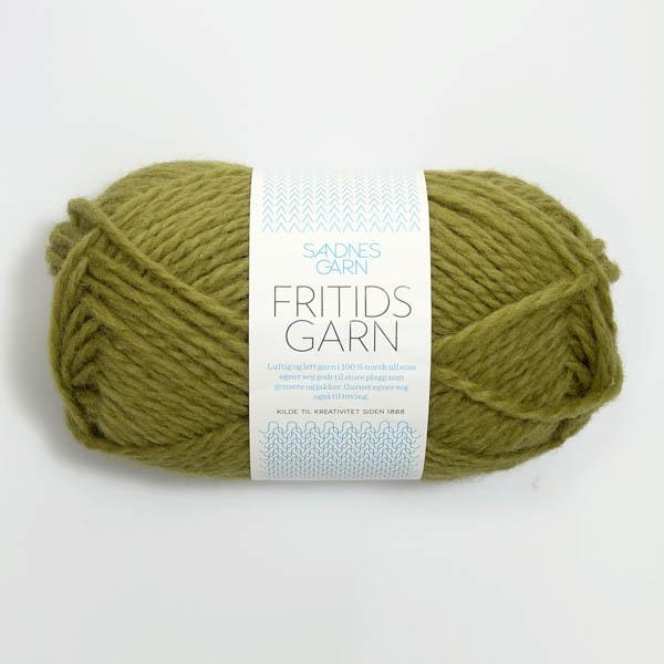 Fritidsgarn 9336 olivgrön