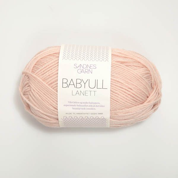 Babyull Lanett 3511 puderrosa