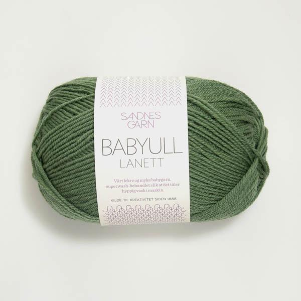 Babyull Lanett 8543 grön