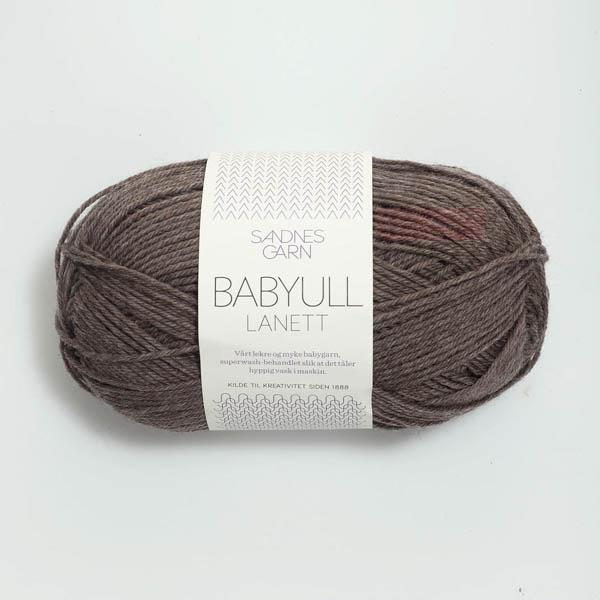 Babyull Lanett 2652 mellanbrun