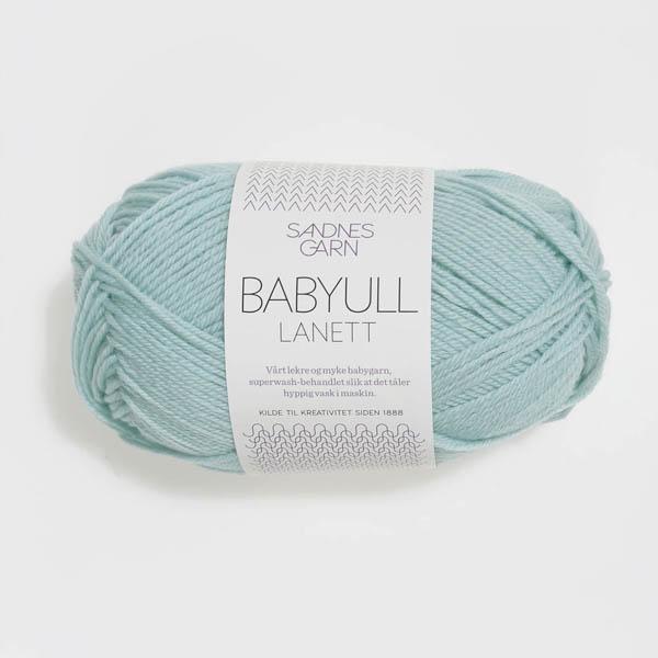 Babyull Lanett 6511 ljusblå