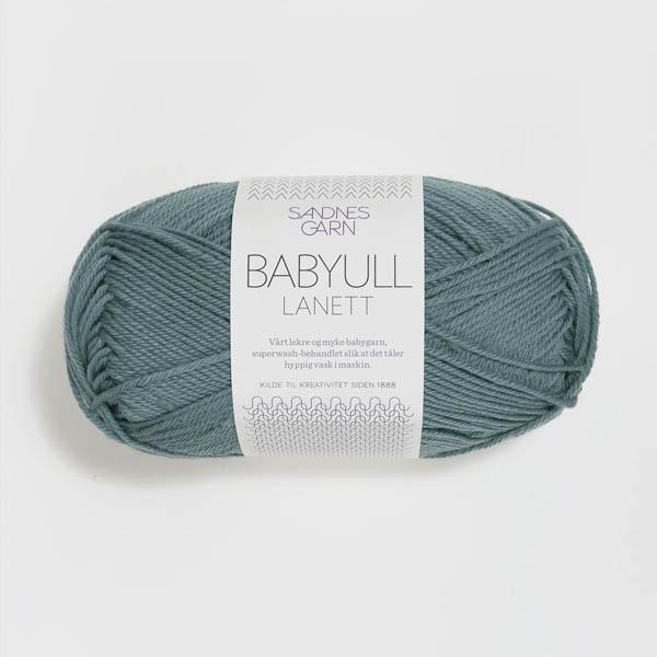 Babyull Lanett 7251 blåpetrol