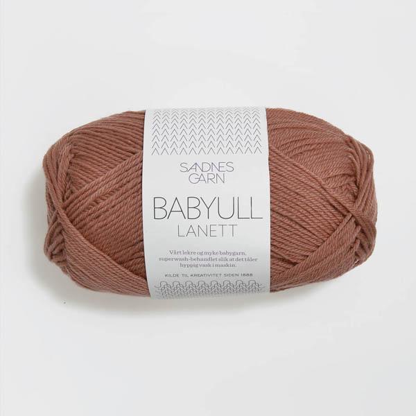Babyull Lanett 3544 brunrosa