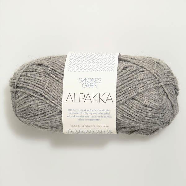 Alpakka 1042 gråmelerat
