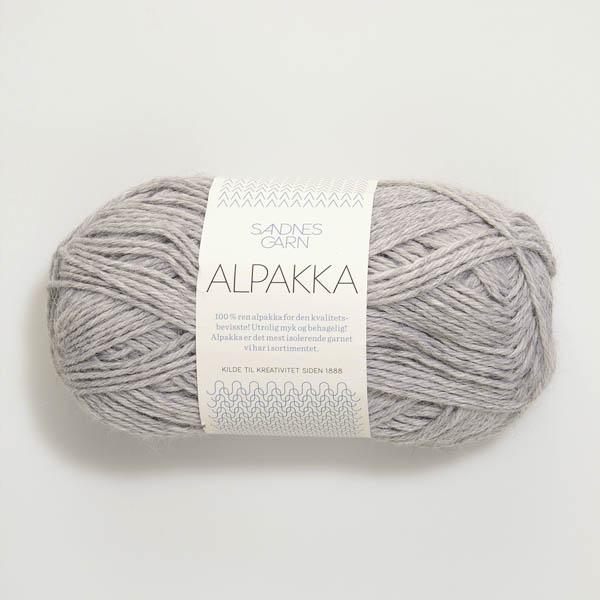 Alpakka 1032 ljus gråmelerad