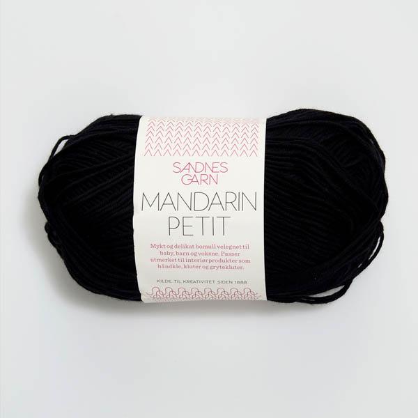 Mandarin Petit 1099 svart