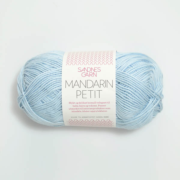 Mandarin Petit 5930 ljusblå