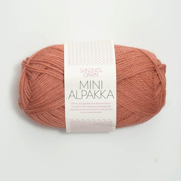 Mini Alpakka 3834 ljus terrakotta