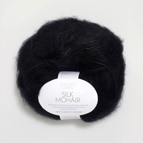 Silk Mohair 1099 svart