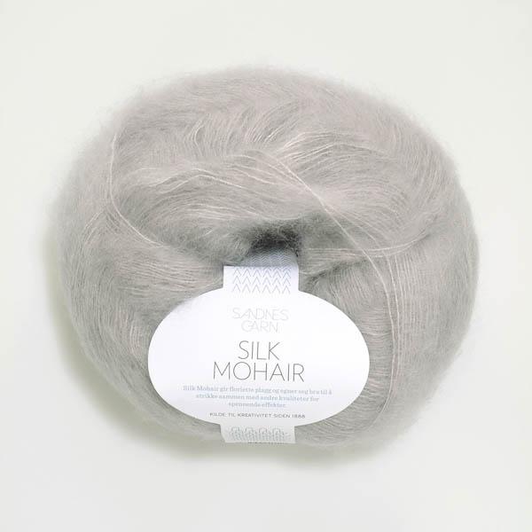 Silk Mohair 1032 lysgrå