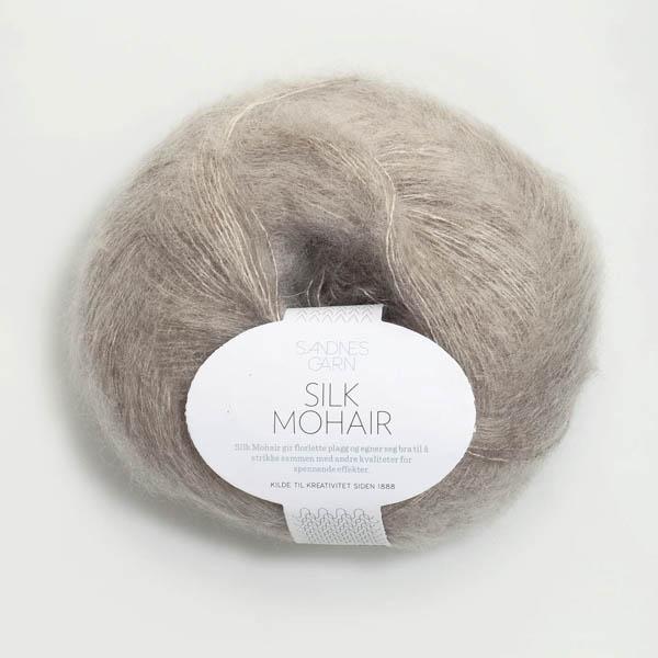 Silk Mohair 2650 beigemelerad