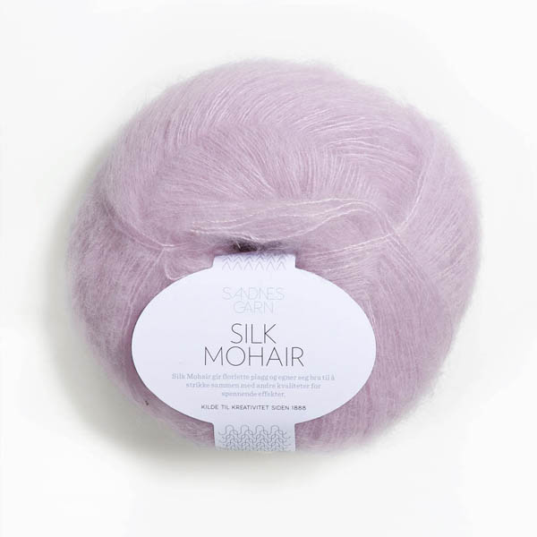 Silk Mohair 4612 ljus syrén