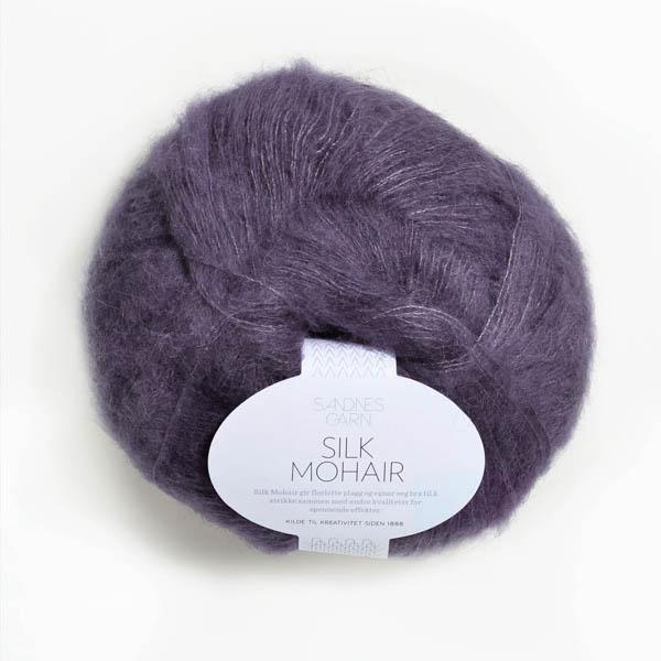 Silk Mohair 5155 lila