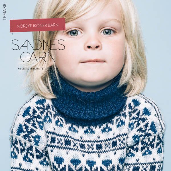 Mönstertidning Tema 38 Norska ikoner barn