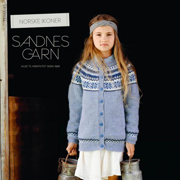 Mönstertidning Tema 45 Norske Ikoner barn