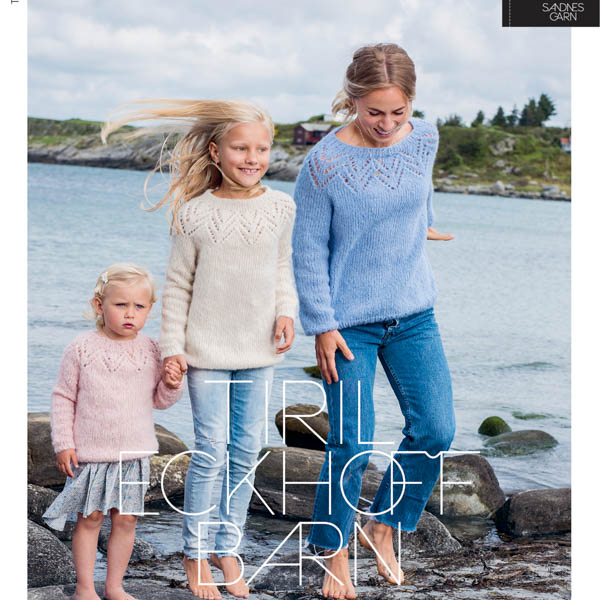 Tiril 5 tröja med hålmönster barn