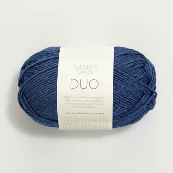 Duo 5864 blå melerad