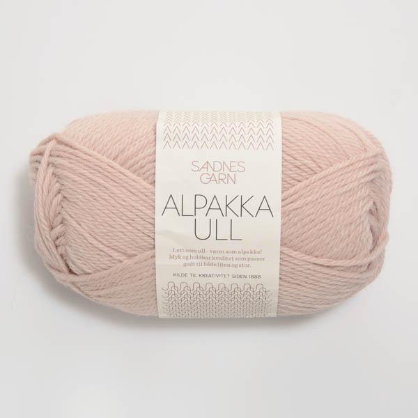 Alpakka Ull 3511 puderrosa