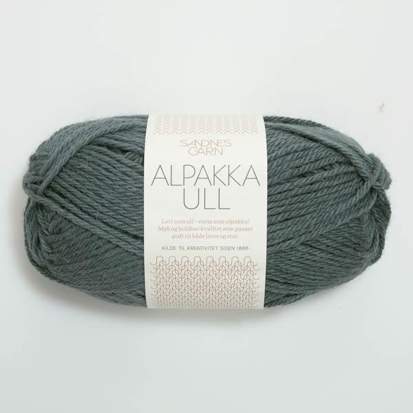 Alpakka Ull 7572 petrolium