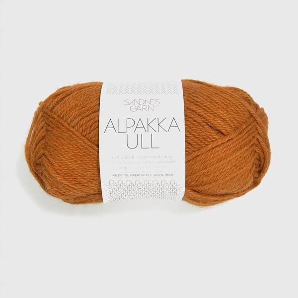 Alpakka Ull 2355 terrakotta
