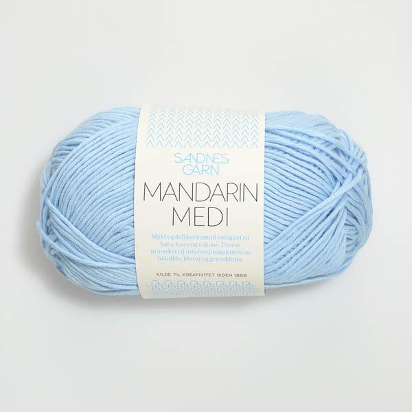 Mandarin Medi 6003 ljus blå