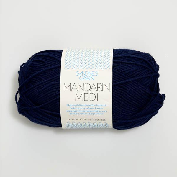 Mandarin Medi 6073 marinblå