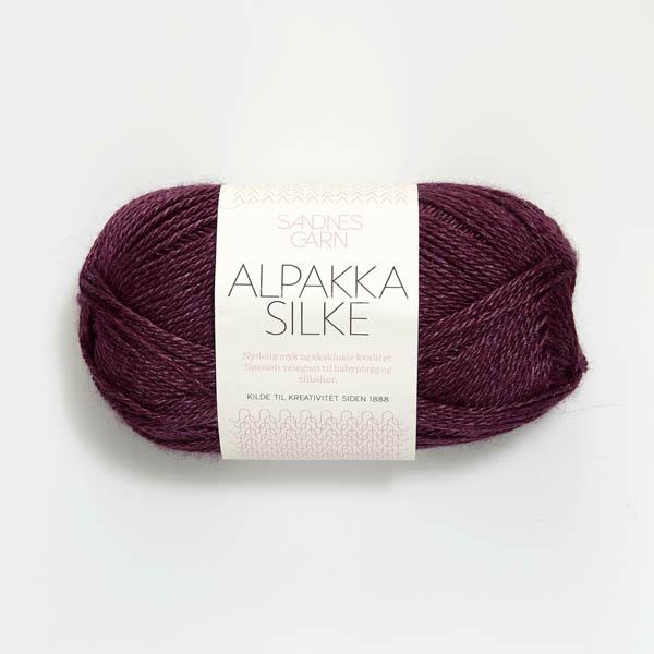 Alpakka Silke 5063 lila