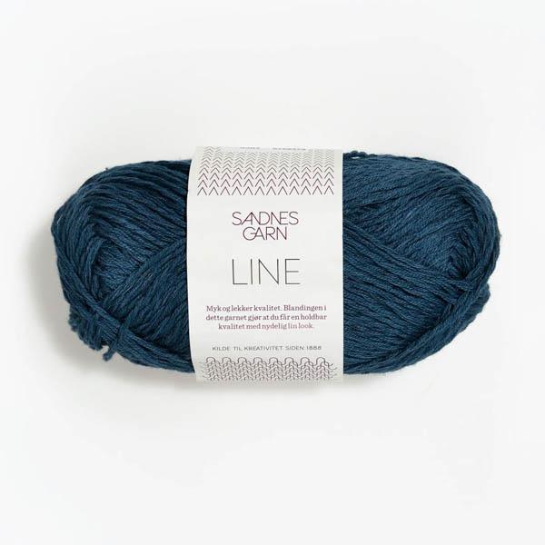 Line 6364 mörkblå