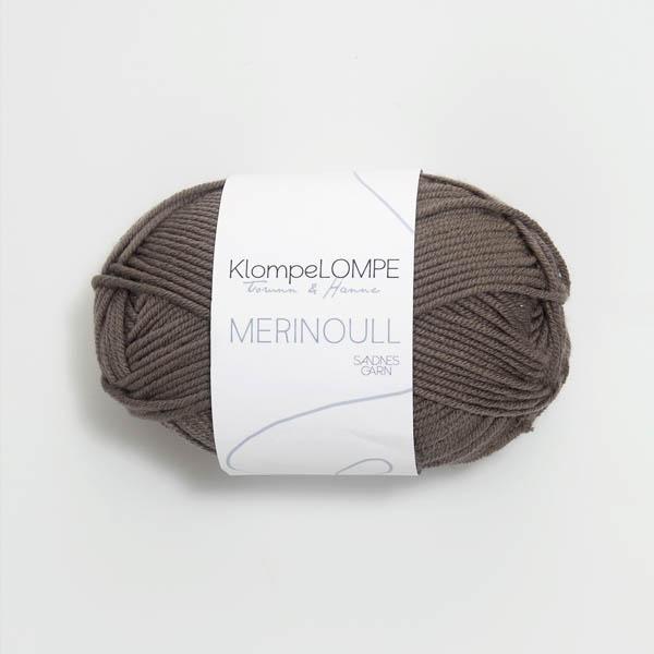 Merinoull 2652 gråbrun