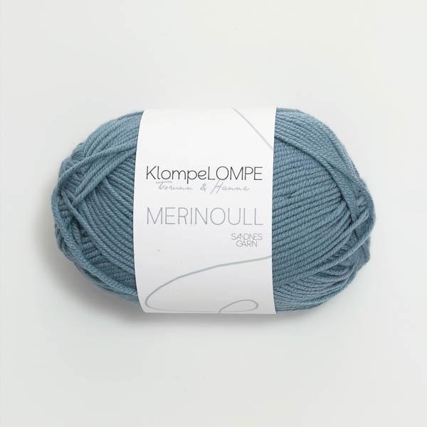 Merinoull 6033 jeansblå