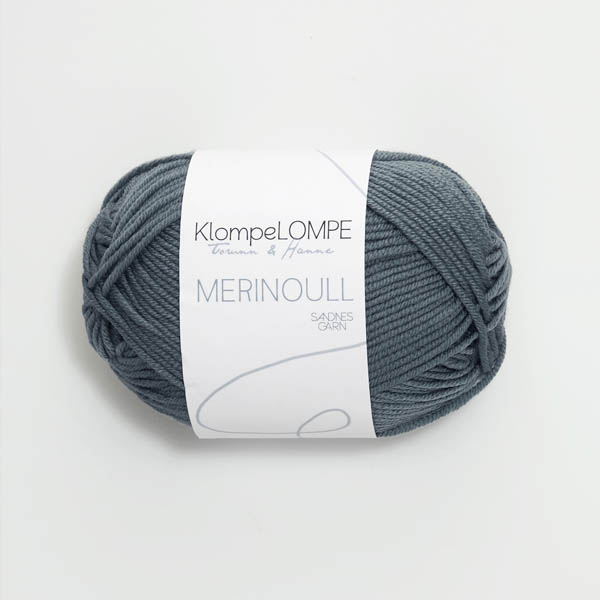Merinoull 6571 blågrön